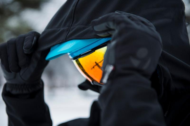 Windshell kapa pomoći će da zaštitite lice od zimskih hladnoća